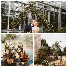 Claire + Mitch - Our Copper Arch at The Greenhouse - Photos by: Allison Harp Photography