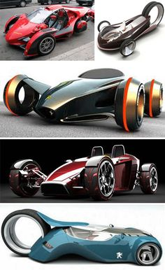 Back To The Future: 29 Thrilling Concept Cars | WebUrbanist