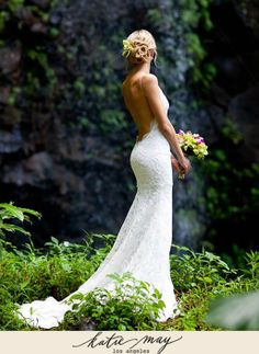If I ever get married.. I gotta have a wedding dress that makes my ass look like this one!