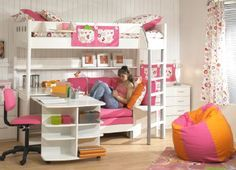 Bunk Bed with desk for Maggie's room