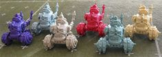 Deathroller Racing set from Impact Miniatures