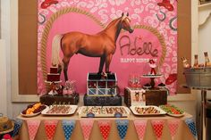 Cowgirl and Horses Birthday Party