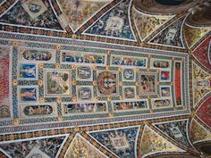 Piccolomini library in the cathedral of Siena