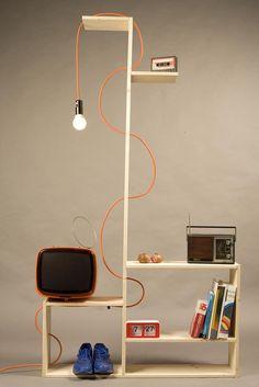 Com pinus, é possível fazer luminárias criativas incríveis. Vem ver!