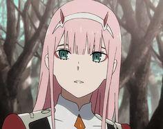 Darling in the franx zero two Otaku Anime, Manga Anime, Kawaii Anime, Querida No Franxx, Anime Girls, Anime Zero, Smile Gif, Icon Gif, Estilo Anime