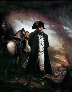 The Emperor Napoloen at Waterloo