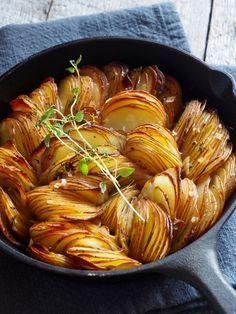 Ovnsbakte poteter med timian - Mat Pa Bordet