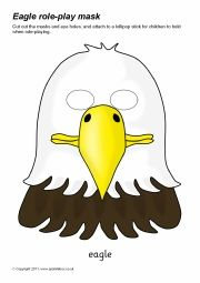 A Great Selection Of FREE Printable Bird Masks For Role Play And Drama