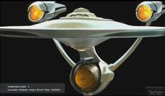 Star Trek.  hybrid between TOS and J.J.verse ships