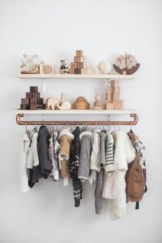 the cutest hanging rack.