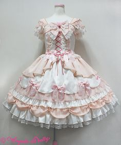 Angelic Pretty Rose Primaジャンパースカート