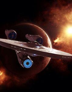 New science fiction ships uss enterprise ideas Star Trek 2009, Star Trek Enterprise, Star Trek Starships, Star Trek Original, Star Wars, Star Trek Tos, Science Fiction, Fiction Movies, Canal 13