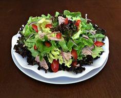 Salada de Atum com Mix de Alfaces