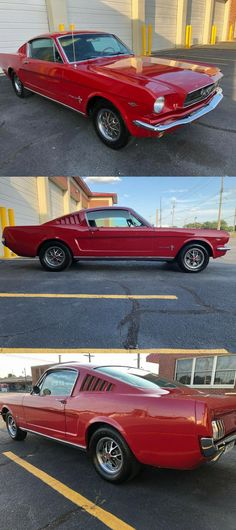 1966 Ford Mustang Fastback, Factory 289 car, Nicely restored