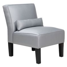 Charlie Accent Chair - Silver from Z Gallerie