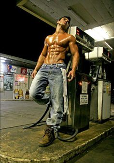 He can fill me up anytime! LO