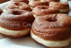 Szalagos fánk tejmentesen Bagel, My Recipes, Doughnut, Bread, Desserts, Food, Tailgate Desserts, Deserts, Eten