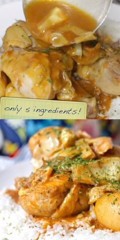 Tender fall-off-the-bone Slow Cooker Italian Chicken is a hearty and wholesome dish that the whole family will love you only need 5 ingredients and 5 minutes to prep! Chicken Leg Recipes, Italian Chicken Recipes, Chicken Legs, Slow Cooker Recipes, Crockpot Recipes, Cooking Recipes, Healthy Recipes, Slow Cooker Chicken, Food Videos
