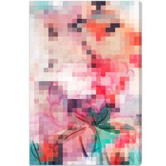 Izumi Graphic Art on Wrapped Canvas Size: Abstract Canvas Art, Canvas Art Prints, Canvas Wall Art, Fine Art Prints, Contemporary Wall Art, Modern Art, Paint Themes, Thing 1, Wrapped Canvas