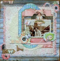 BoBunny: 1 Layout 3 Ways with Butterfly Kisses!