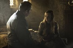 Kissed by Fire- Stannis Baratheon, Shireen Baratheon Still of Stephen Dillane and Kerry Ingram in Game of Thrones