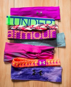 UA headbands - tons of styles and colors! Take your pick!
