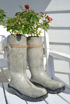 11 projets en béton pour embellir votre jardin - Des idées