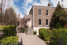 """'I love old buildings,"""" says Goretti Foreau, the conservation architect who is the current owner of 1 Leahy's Terrace in Sandymount, a decent example of how a period house can be made to accommodate modern family living. Dublin, International Real Estate, Old Buildings, Modern Family, Property Listing, Luxury Homes, 19th Century, Terrace, Home And Garden"""