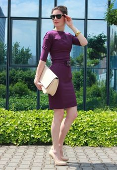 0761e5adae3 Corporate Business Look with Manifattura Donna Dress