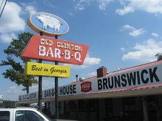 Old Clinton Bar-B-Q, Gray GA | Marie, Let's Eat!