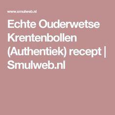 Echte Ouderwetse Krentenbollen (Authentiek) recept   Smulweb.nl