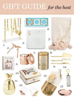 Going to a party this holiday season? Here are a few gift ideas to pick up for the host that are both stylish and affordable! Visions of Vogue #giftguide #hostessgifts