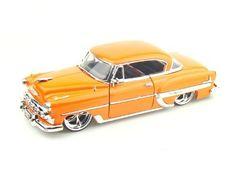 Jada Toys, Chevrolet Bel Air, Diecast Model Cars, Toy Trucks, Slot Cars, Scale Models, Chevy, Orange, Retro