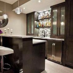 Clean Modern Basement Bar Ideas Bar Design Fascinating Contemporary Bar Ideas For Basement With Dark Home Bar Plans, Basement Bar Plans, Basement Bar Designs, Modern Basement, Home Bar Designs, Basement Renovations, Home Remodeling, Basement Ideas, Basement Gym