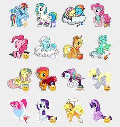 My Little Pony Stickers Set | Telegram Stickers