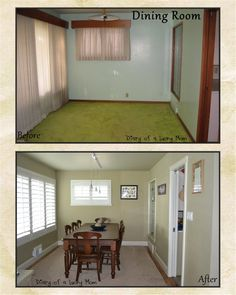 """Paint and Flooring, Paint and Flooring....Look at the size of the rooms and the windows - often, your best """"deals"""" in Home Buying will be the """"Before"""" House! via houzz.com"""