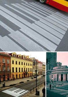 Warsaw changed their crosswalks to piano keys in honor of Chopin's 200th birthday. What would custom Tacoma crosswalks look like?