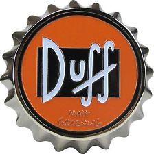 The Simpsons Duff Beer Belt Buckle. Looks just like a big bottle cap. Beer Bottle Caps, Big Bottle, Bottle Art, Duff Beer, Homemade Beer, Packaging, Bottle Cap Images, How To Make Beer, Beer Brewing