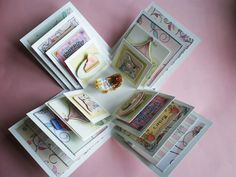 Relaxing Bubble Bath Exploding Box Card by CraftImagination