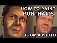How To Paint Digital Portraits From A Photo | Corel Painter Tutorial