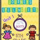 multiple choice spelling test