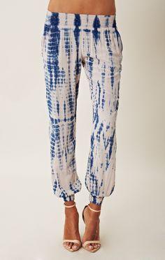 tie dye gypsy trouser // Blu Moon #BlueLife #planetblue