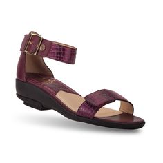 Share and Save $5 Women's Rosemary Purple Casual Sandals | GravityDefyer.com