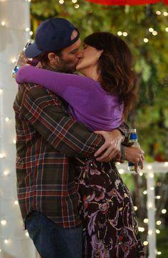 "Luke & Lorelai: ""Gilmore Girls"" One of my most favorite shows. Wish it was still on."