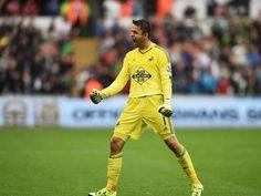 Lukas Fabianski, Swansea City as Swans beat Man Utd 2-1