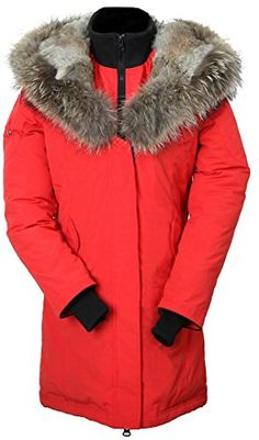 Arctic Residents Women's Down Filled Coat, Fur Hood Parka Winter Jacket Red  http://www.yearofstyle.com/arctic-residents-womens-down-filled-coat-fur-hood-parka-winter-jacket-red/