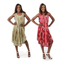African Dresses, African Print Dresses and African Skirts |