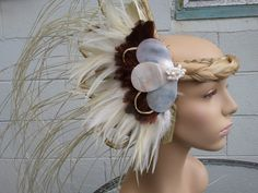 Tahitian Costume Side Head Piece