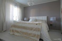 Coconut White: Siivouspäivä - hetkellinen vaaleus makuuhuoneessa