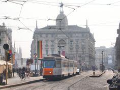 Tram in Milan, Italy